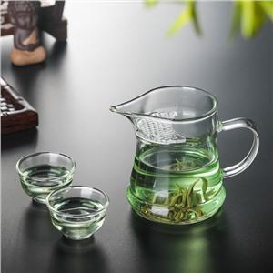 月牙公道杯尖嘴绿茶泡茶杯